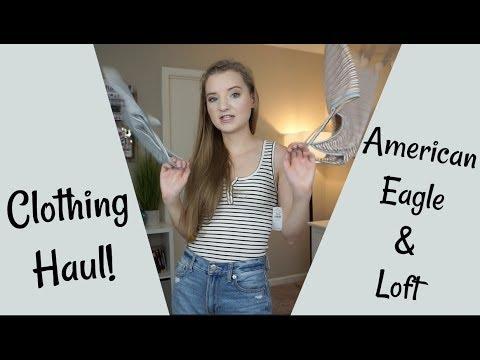 American Eagle & Loft TRY-ON HAUL - #ImObsessed