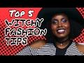 TOP 5 Witchy Style Tips // Fringe Binge | HISSYFIT