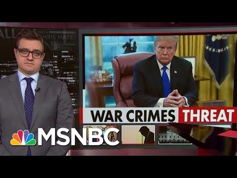 Chris Hayes On Our Pro-War Crimes President | All In | MSNBC