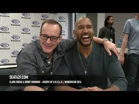 Clark Gregg & Henry Simmons Agents of SHIELD WonderCon 2016