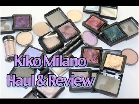 Kiko Milano Cosmetics | Haul & Review