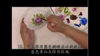 彥蓁彩繪系列-- 玫瑰彩繪 Rose Painting