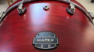 Mapex 30th Anniversary Drum Kit Walk Around