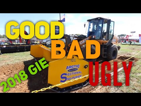 The Good, Bad and The Ugly At The 2018 GIE Expo!