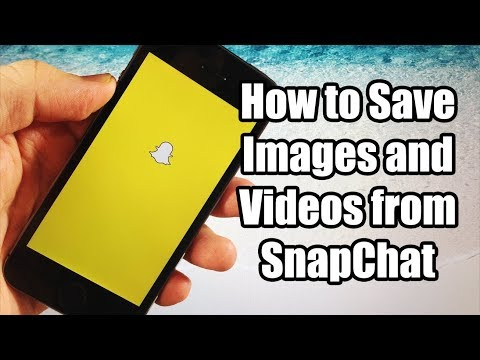 How to save Snapchat Video and Pictures HACK! NO JAILBREAK! NO COMPUTER!