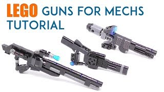 Gambar cover LEGO - Guns For Mechs Tutorial - Stop Motion