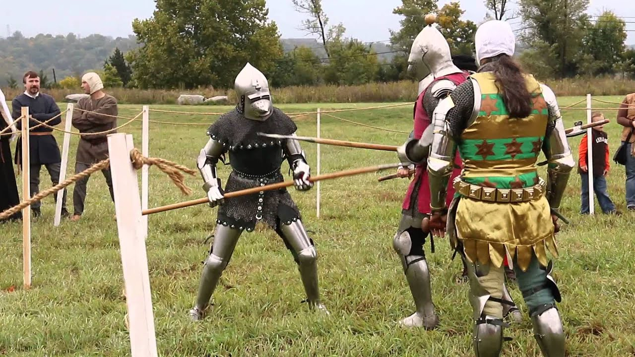 Days of Knights III - Spear Fighting
