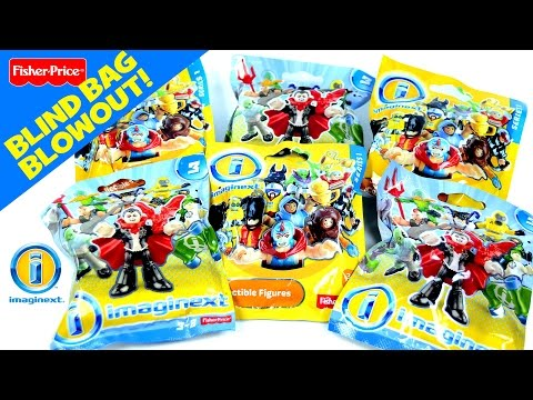 Imaginext Mystery Figures Series 5 By Fisher Price Blin