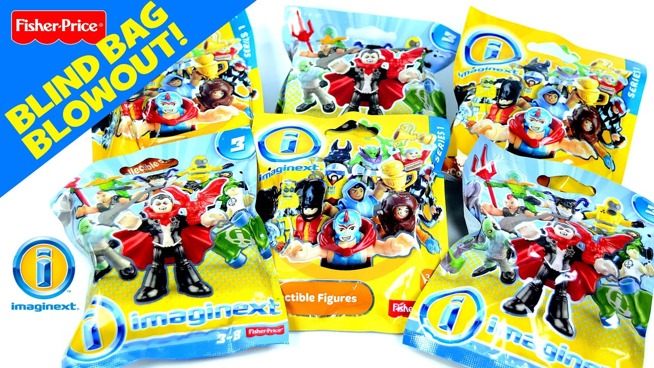 Imaginext 174 Mystery Figure Series 1 Amp 3 Fisher Price 174 Blind