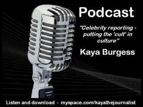 Celebrity reporting - putting the 'cult' in culture