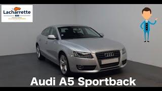 🚙ARRIVAGE🚙  AUDI A5 Sportback V6 2.7 TDI 190 DPF Ambition Luxe Multitronic A