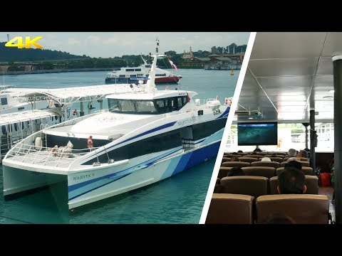 Trip Report Batam - Singapore with Majestic Fast Ferry | Broewnis Travel