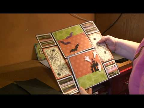 FUN CARD FOLDING TECHNIQUE - NEVER ENDING CARD
