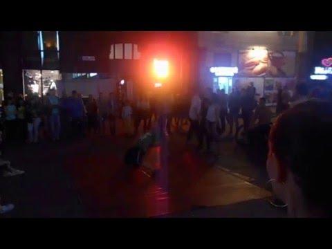 Видео, Танцевальные батлы Крещатика, Вечерний Киев  - Dance Battles Khreshchatyk, Kiev Evening 23.09.2015