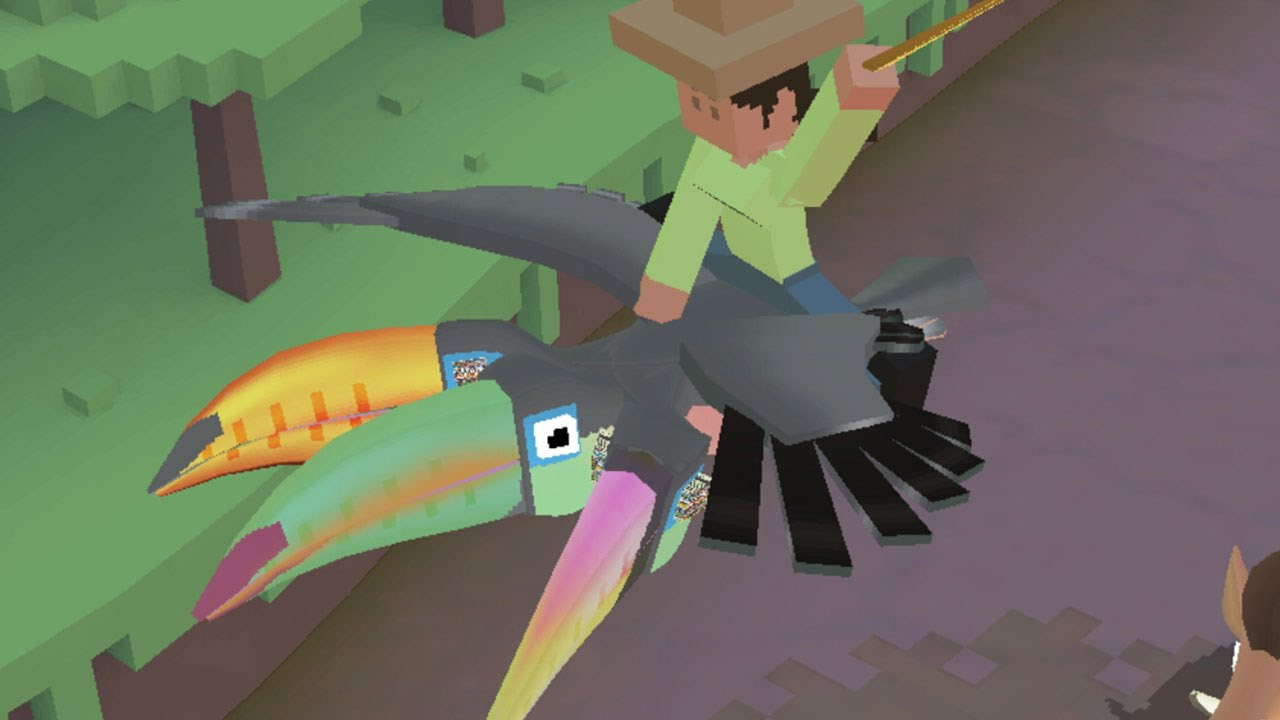 Taming The Threecan Secret Rodeo Stampede Toucan Youtube
