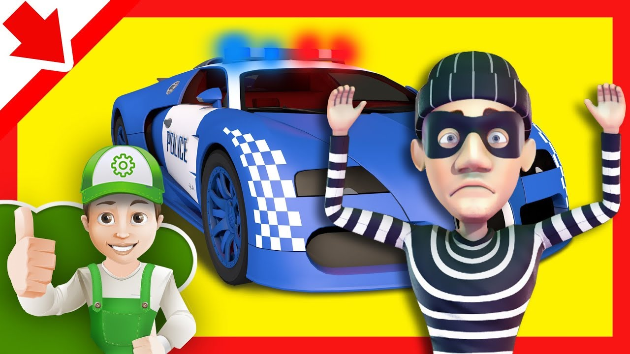 Voiture Police Dessin Camion Police Dessin Anime Police Chasse