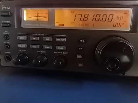 17810 kHz: Radio Romania International, Tiganesti ROMANIA