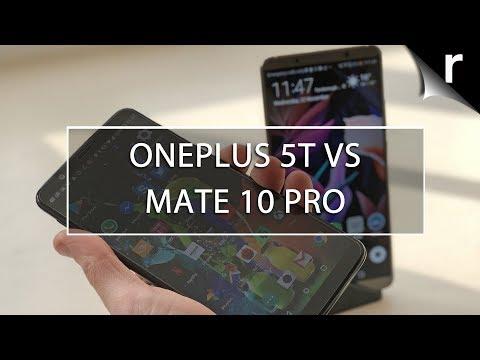 OnePlus 5T vs Huawei Mate 10 Pro: Six-inch slug-out