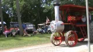 Gaar Scott expo Steam engines at 2014 Rushville Indiana Pioneer Days