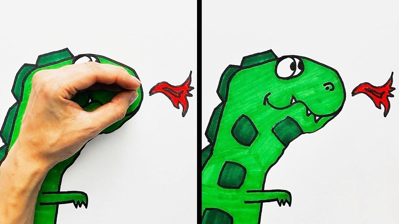 Dessin Avec La Main 20 idÉes de dessins spÉciales pour vos mains