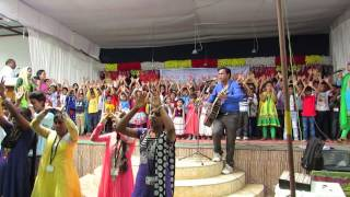sunday school action song hindi ( shamart tum pawoga )