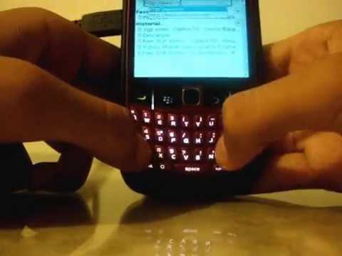 Como descargar musica desde el BlackBerry 8520