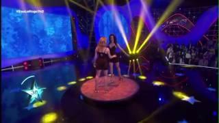 Hermanas Raluy en un TV show.