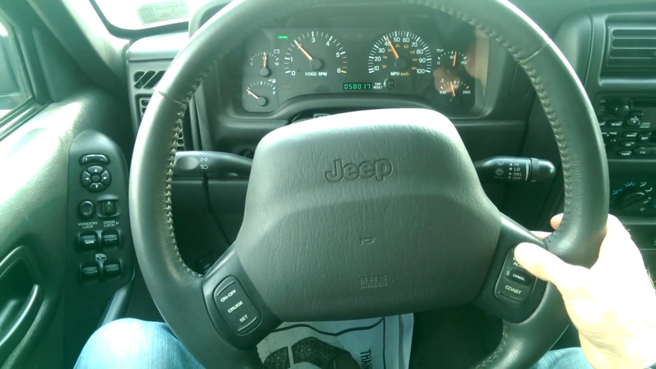 jeep cherokee xj cruise control check youtube rh youtube com Jeep Wrangler Manual Transmission Diagram Jeep Wrangler Service Manual PDF