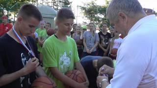 Баскетбольный лагерь Хабаровск 2015 День 2 Вечер