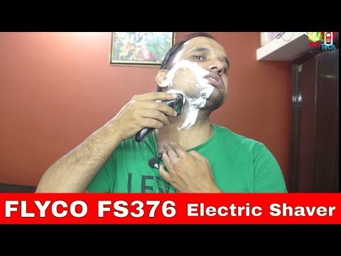 FLYCO FS376 Floating Washable Shaver Electric Razor
