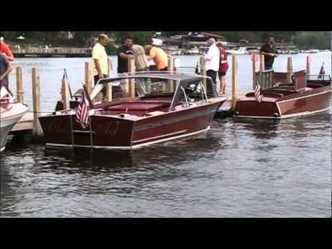 Wood Antique Classic Boats Show 2011 - Lake George, NY  part 2 of 4