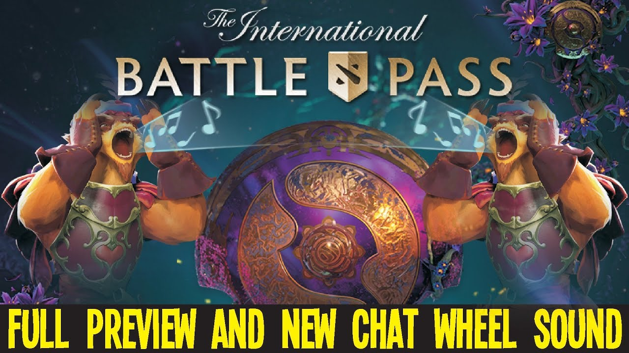 Battle Pass 2019 Full Review + All Chat Wheel Sounds