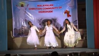Yuvajaname  Group Dance by Malayalam Christian Community Horsham