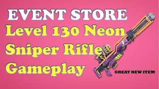 Fortnite StW - Event Store Level 130 Neon Sniper Game Play