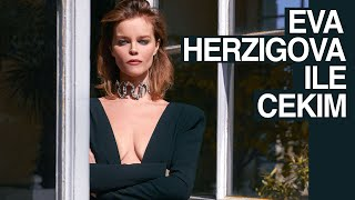Photo shoot with Eva Herzigova