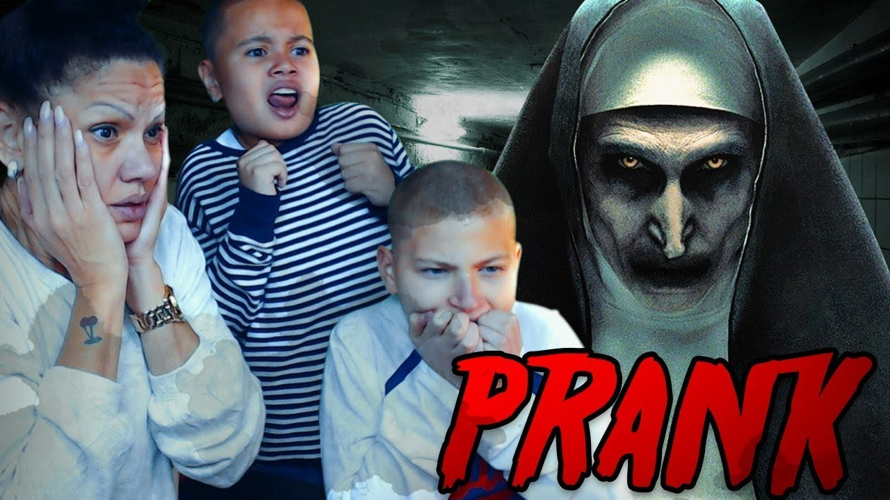 the-nun-scare-prank-on-my-family-scariest-prank-ever