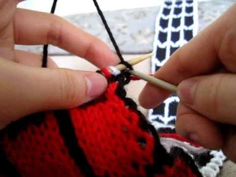 Knitting Tutorial Spider Man Vs Venom Scarf Tips 35 Youtube