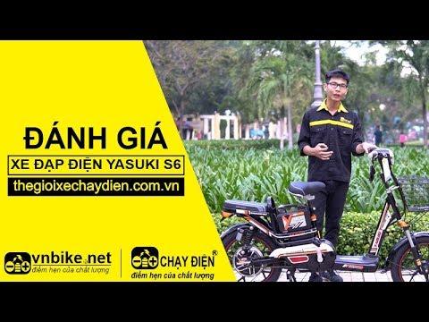 Đánh giá xe đạp điện Yasuki S6