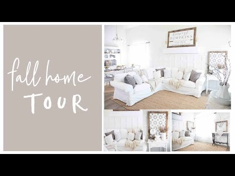 Home Decor- Fall Farmhouse Home Tour