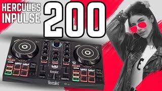 Hercules DJ Controller Inpulse 200 & DJuced DJ Software | Günstiger DJ Anfänger Controller