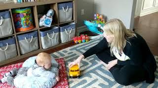 3-6 Months: Eye Gaze and Eye Contact