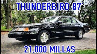 Ford Thunderbird 1987 importado. un consentido de Ford
