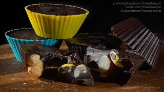 EASY Nut And Raisin Chocolate Cups Recipe