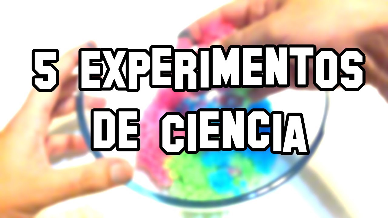 Five science experiments and Easy Homemade  YouTube