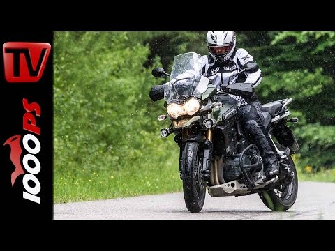 Triumph Tiger Explorer Stunts | Stunt Friday Action