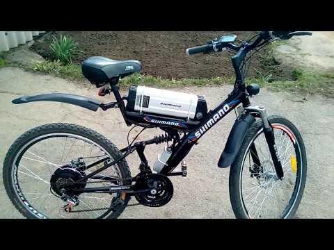 Электровелосипед, мотор колесо 36 вольт 500 ватт редукторное