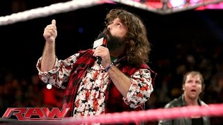 Mick Foley returns to Raw: Oct. 20, 2014
