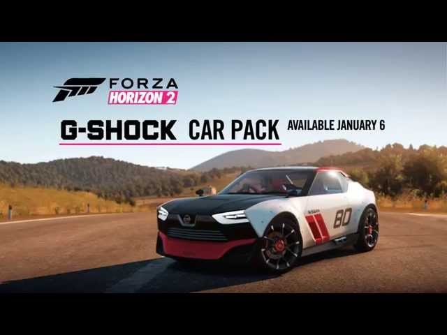 Forza Horizon 2 G-Shock Car Pack Trailer
