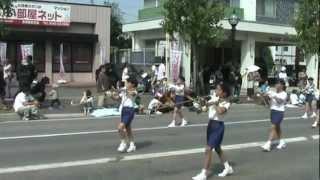 会津まつり鼓笛隊パレード ザべリオ学園小学校 2012.9.22