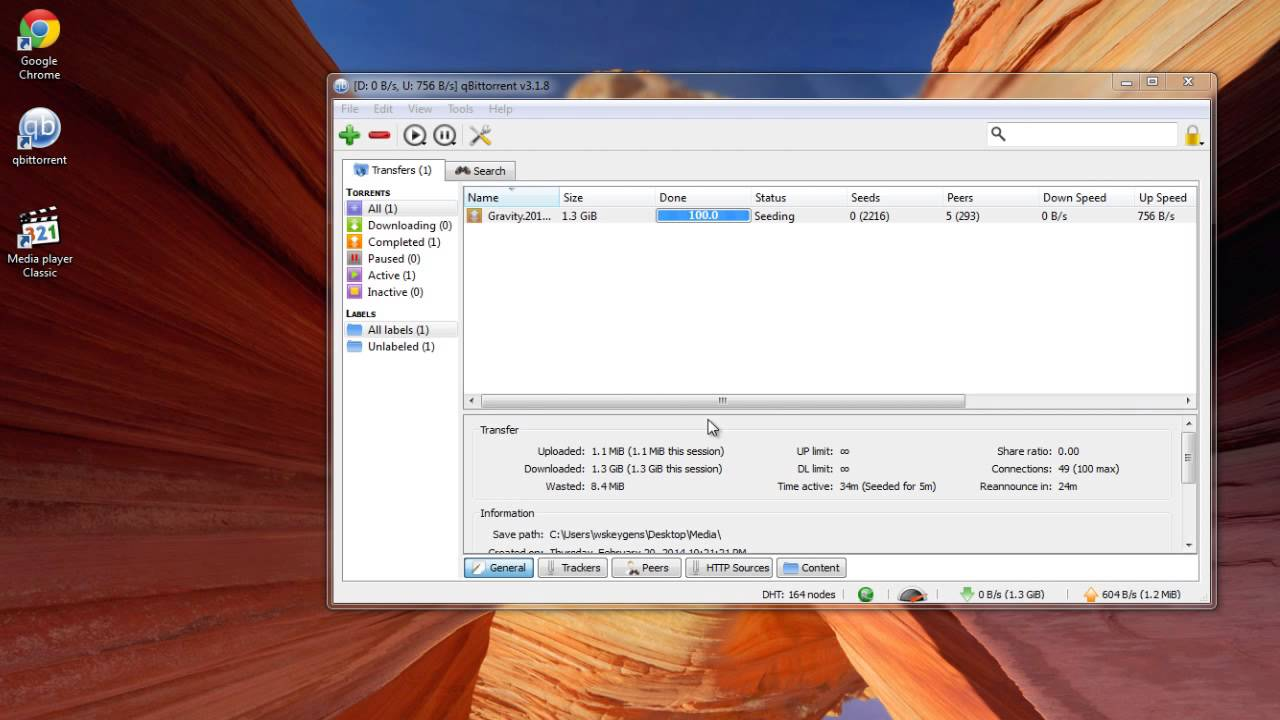 [UPDATED 2014] Torrent Download Tutorial [qBittorrent Torrent Downloader]